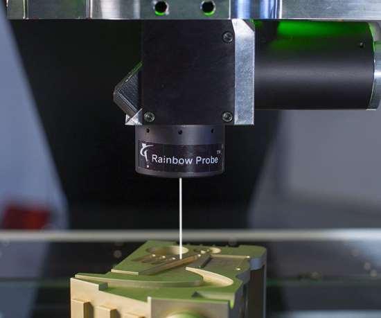 OGP's RP1500 Rainbow Probe optical measurement sensor