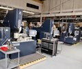 sinker, wire and hole-drilling EDMs in shop