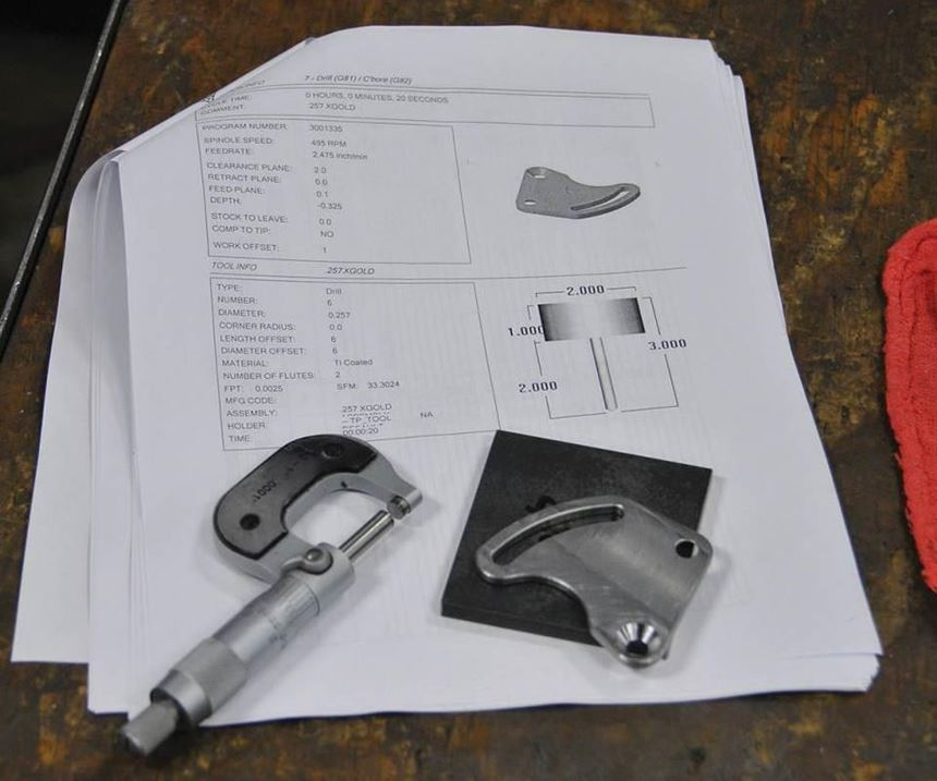 part and drawing