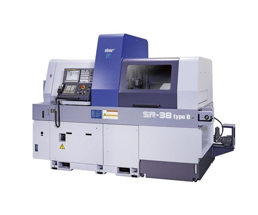 Star CNC Machine Tools SR-38B Swiss-type automatic lathe