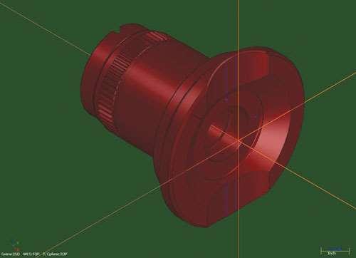 Mastercam four-axis machining programming
