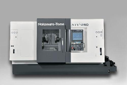 methods Nakamura-Tome NTY3-250 turn mill