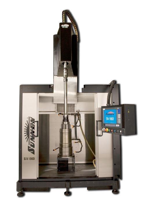 Sunnen SV-560 vertical CNC honing system