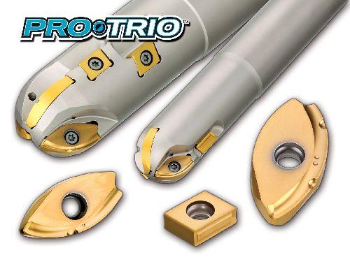 Ingersoll Pro-Trio ballnose contour roughers