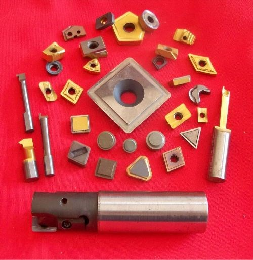 R & J Tool indeexable carbide and ceramic insert sharpening