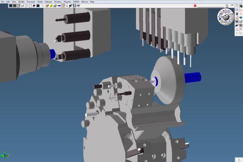 Gibbs and Associates Multi-task machining MTM solution