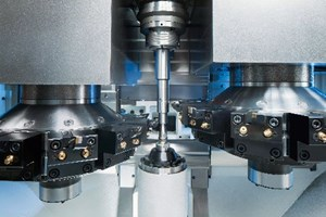 Emag VT 2-4 vertical turning machine