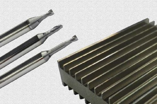Mikron Tool CrazyMill Cool endmill