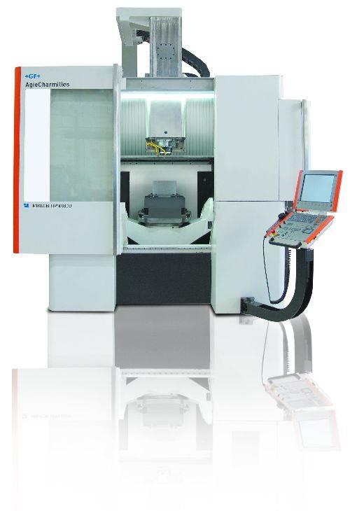 GF AgieCharmilles Mikron HPM 800U milling machine