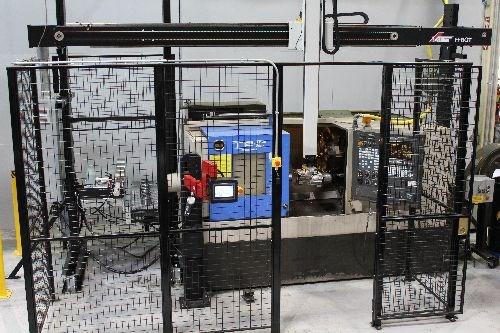 H-Bot lathe gantry loader