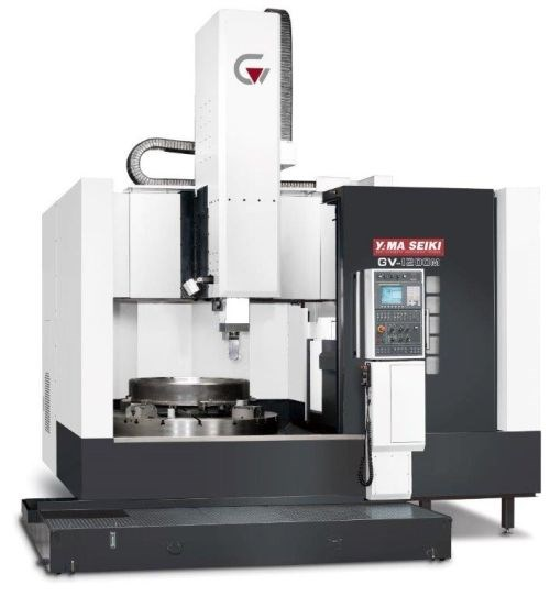 Goodway GV-1200M vertical turning center