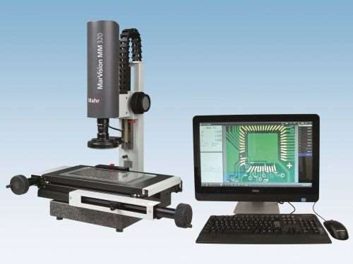 measuring microscope and software