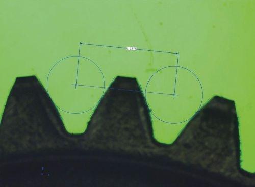 measuring microscope CCD camera