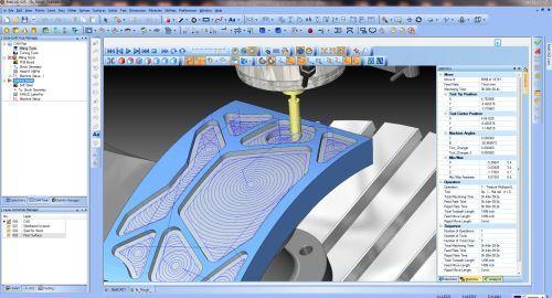 BobCAD-CAM dynamic machining strategies