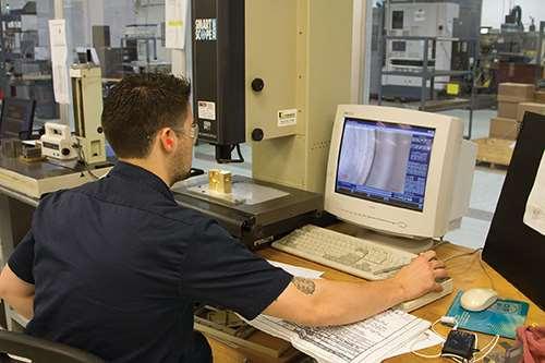 quality control at Aztalan Engineering