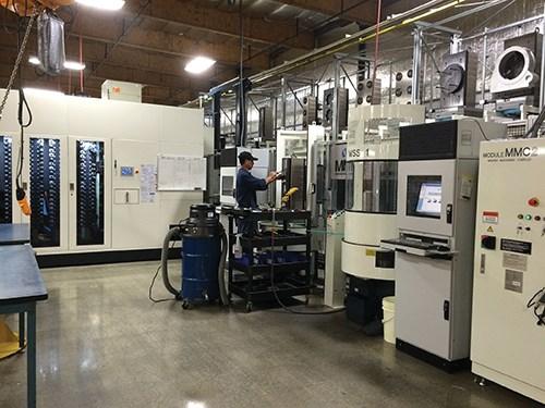 Micro-Mechanics Holdings horizontal machining centers