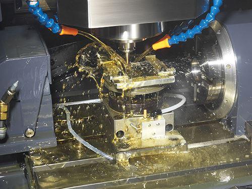 machining micro-fluidic channels