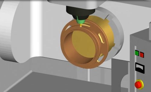 MachineWorks for hybrid additive subtractive machining
