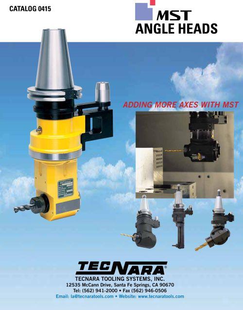 Tecnara Tooling Systems catalog angle heads