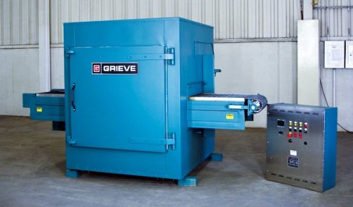 grieve No. 1021 belt conveyor oven