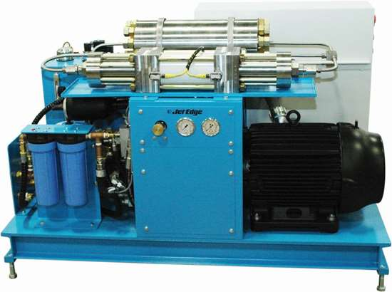 Jet Edge iP60-30 hydraulic waterjet intensifier pump