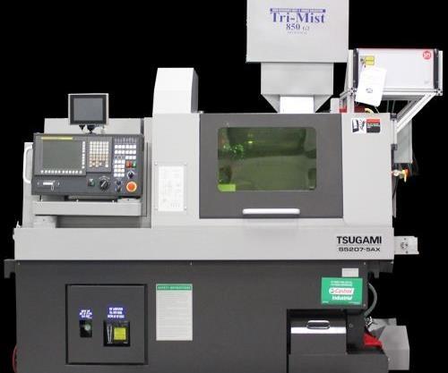 Tsugami/Rem Sales SS207-5AX LaserSwiss CNC Lathe