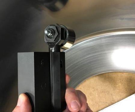 Monaghand carbide-roll burnishing tools