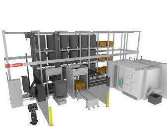 Fastems Multi-Level Flexible Manufacturing System