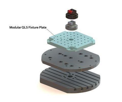 Jergens Quick Locating System Fixture Plate