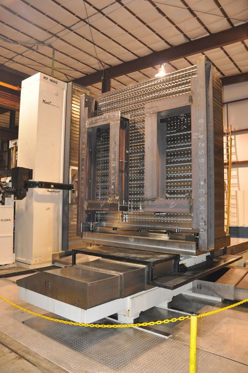 MAG G&L RT 1600 rotary table boring mill