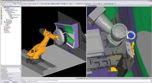 Composite Applications Simulate Fiber-Placement Machinery