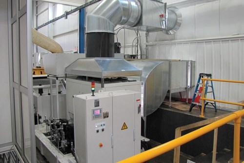 Grinder duct work and enclosures