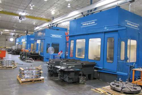 palletized machining centers