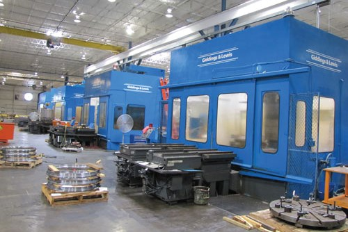 palletized machining centers