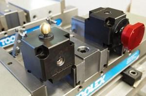 Mitee-Bite manual actuator