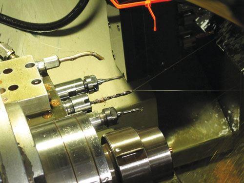 high-pressure coolant
