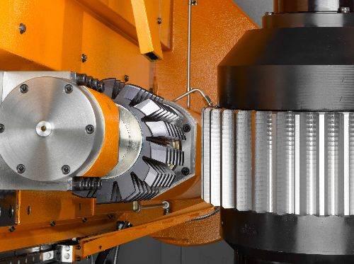Liebherr LC universal hobbing machine