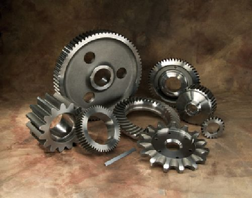 Presrite near-net forged tooth gears
