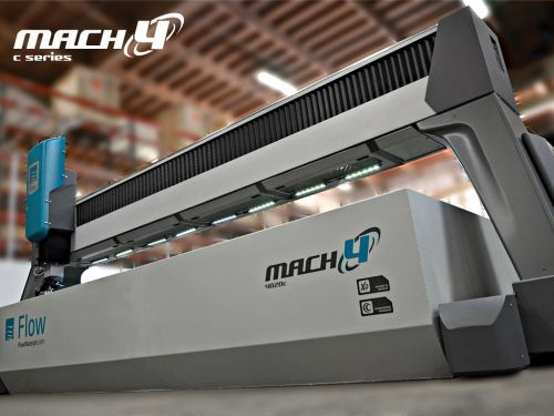 Flow International Mach 4c waterjet
