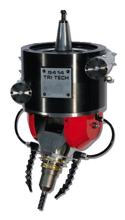 Tri-Tech Precision Products Model 5414-R4 spindle head