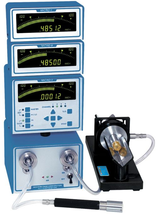 Western Gage Micro IIi air gage readout