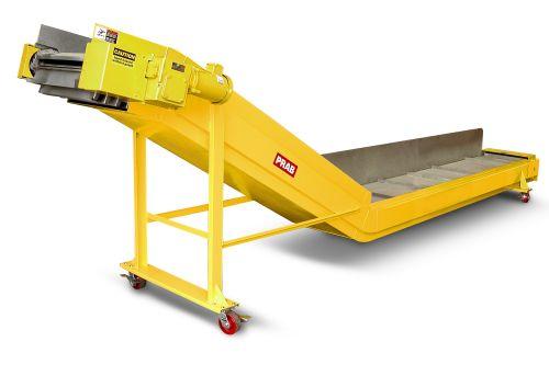 PRAB pivot belt conveyor