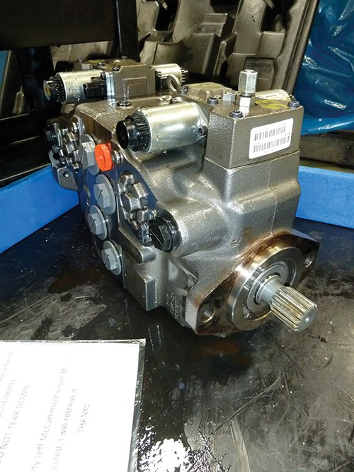 completed hydrostatic transmissions