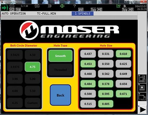 Moser app GUI
