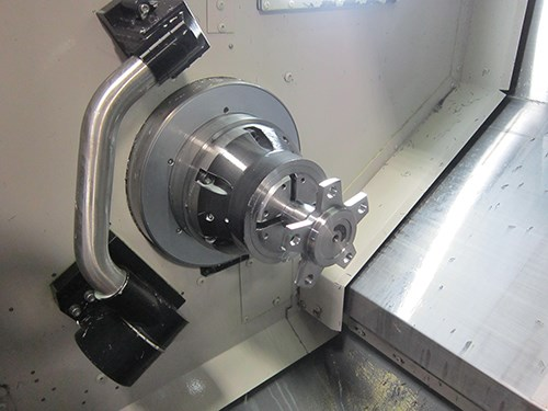 completed axle flange