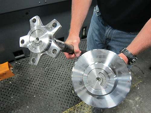 compared appearance of flanges