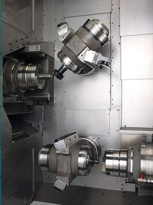 inside a turn-mill