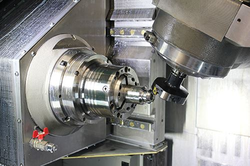 machining a bevel gear