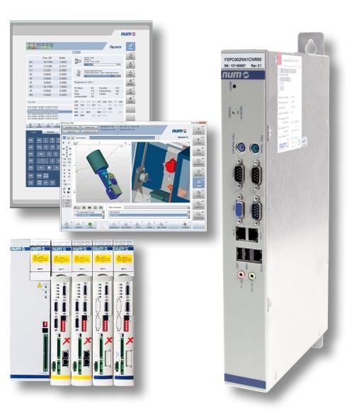 NUM MTConnect CNC