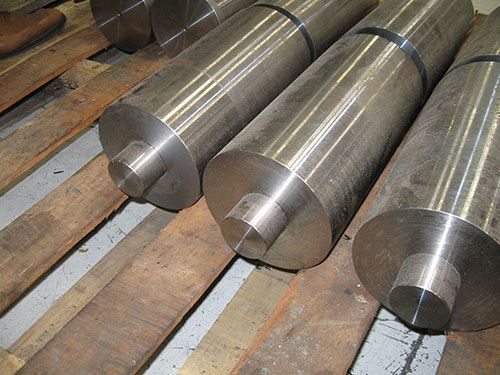turned cylindrical stems